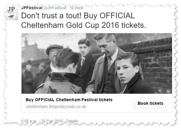 Buy Cheltenham Festival tickets