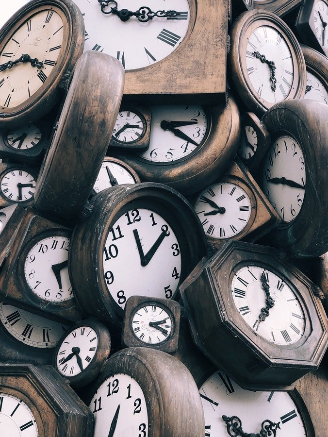 Photo of clocks - How often should you post on social media