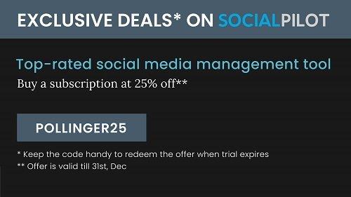Save money on SocialPilot