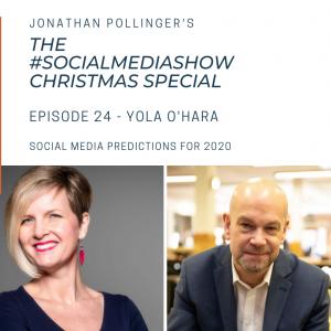 The #SocialMediaShow – Social media predictions for 2020