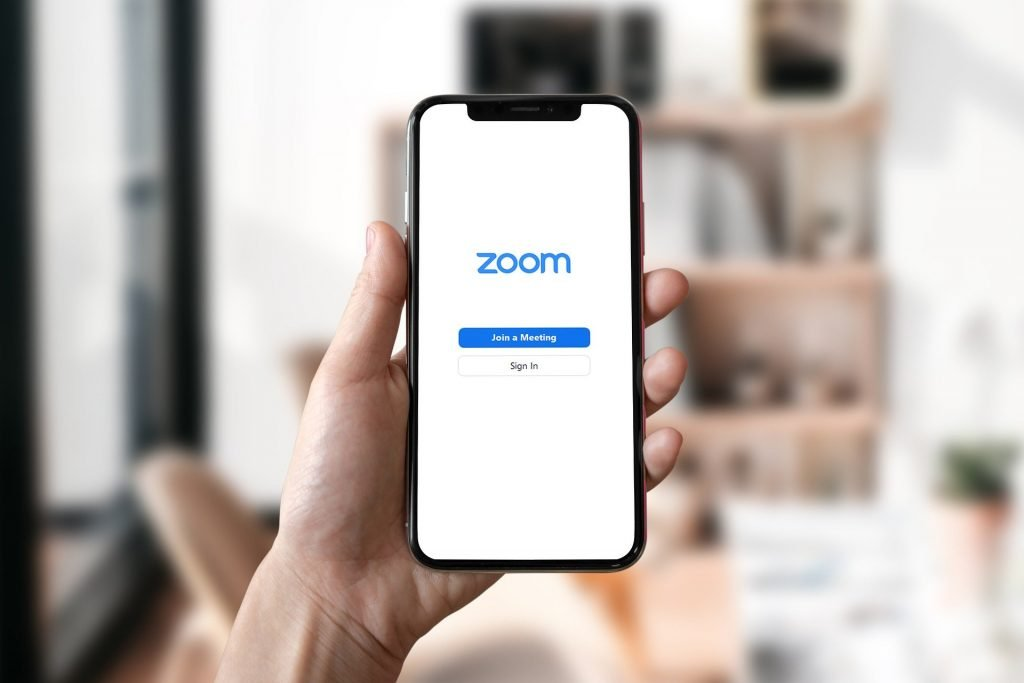 zoom mobile video